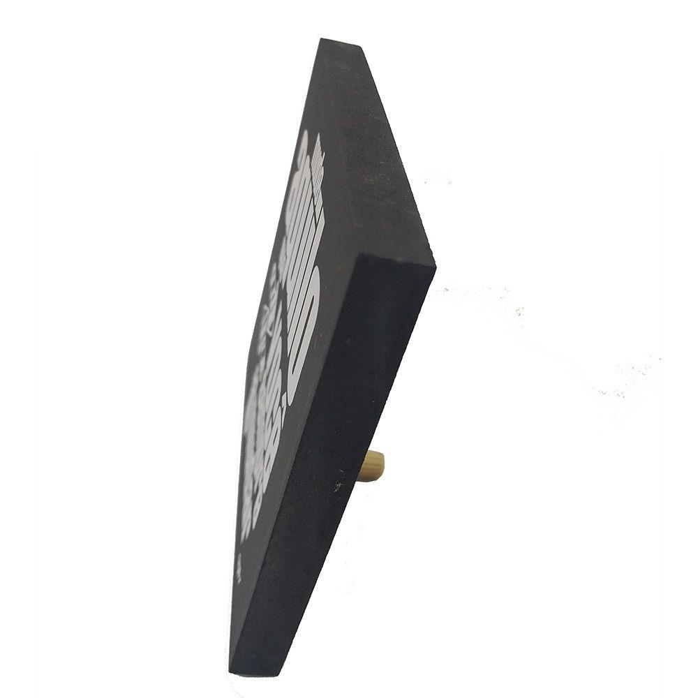 Mini Quadro Decorativo Mude Aquilo 12x12 cm