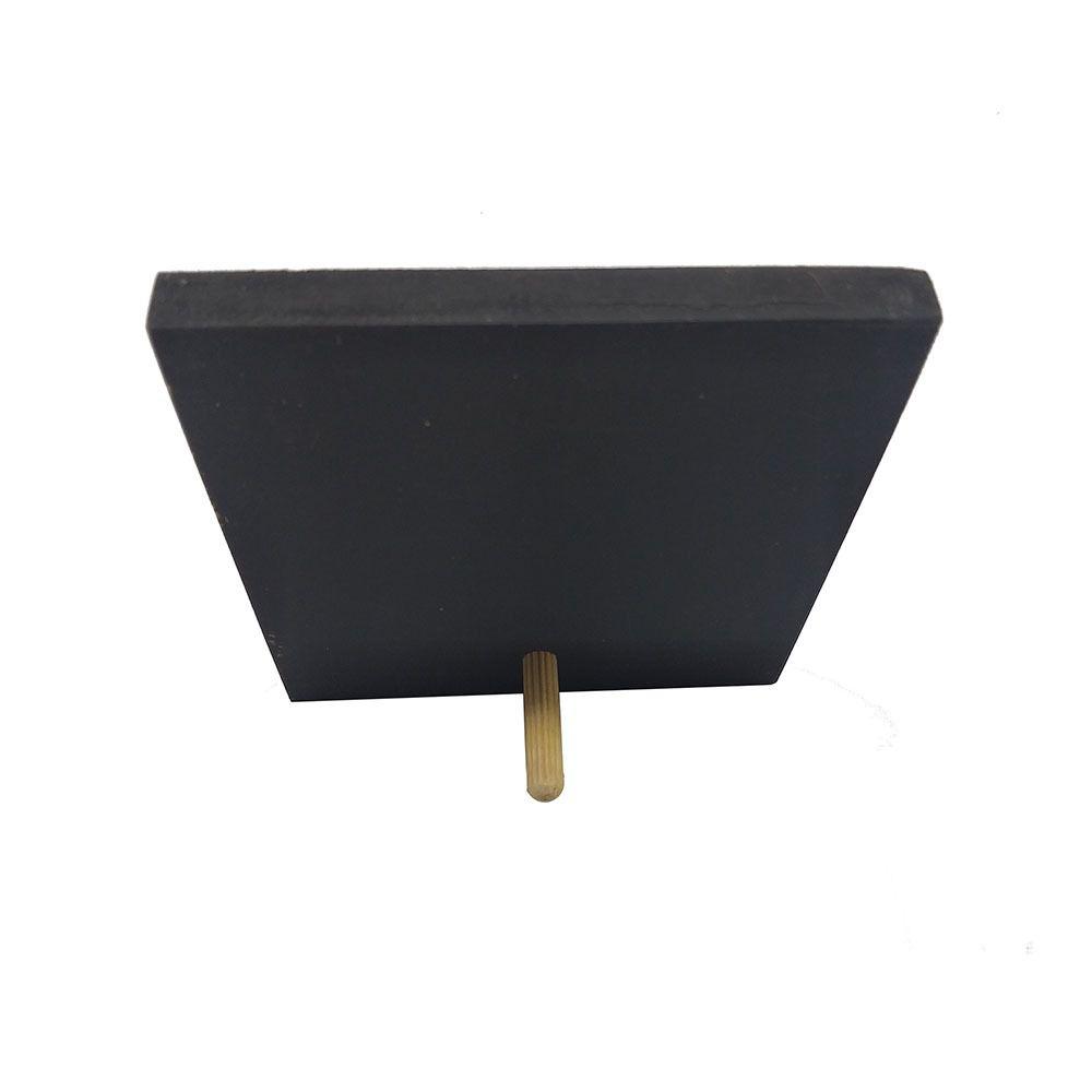 Mini Quadro Decorativo Pés Para Que 12x12 cm