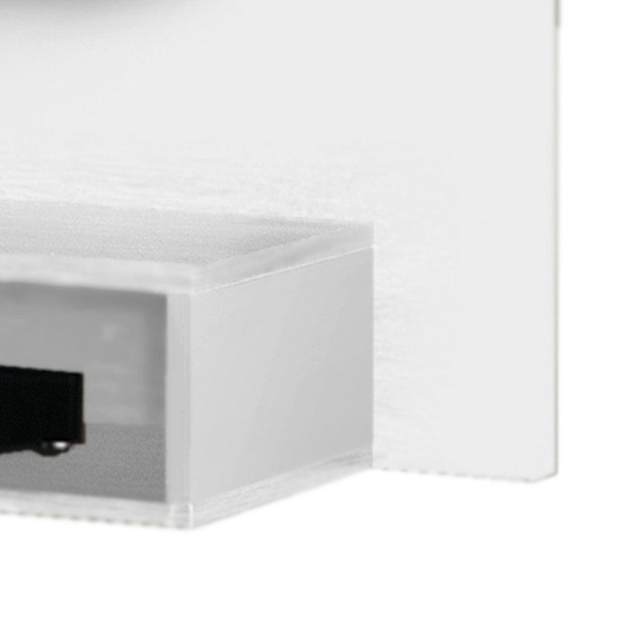 Painel para TV Coral Kaiki Móveis até 46 Polegadas Branco