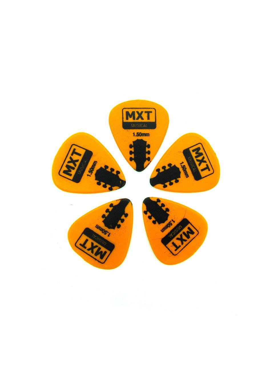 Palheta para Violão Guitarra Baixo 5 unidades