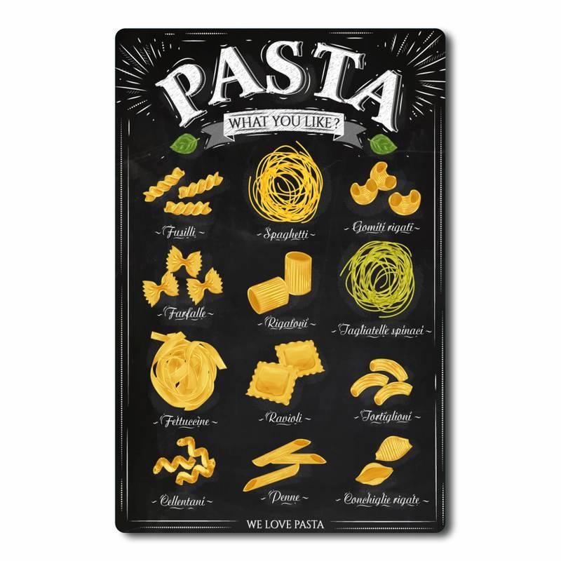 Placa Decorativa Pasta e Massa
