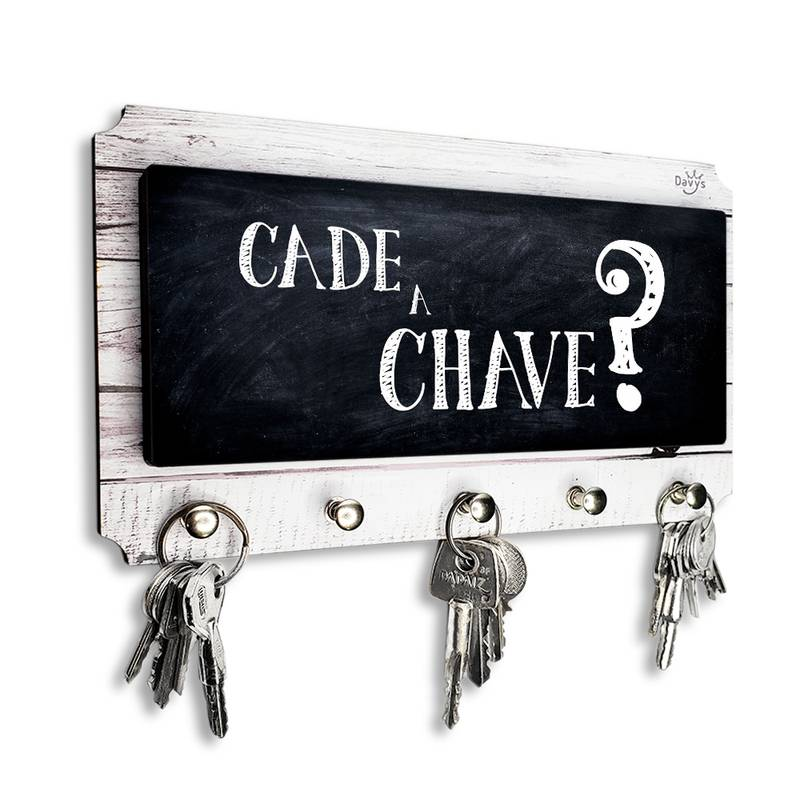 Porta Chaves Cadê a Chave?