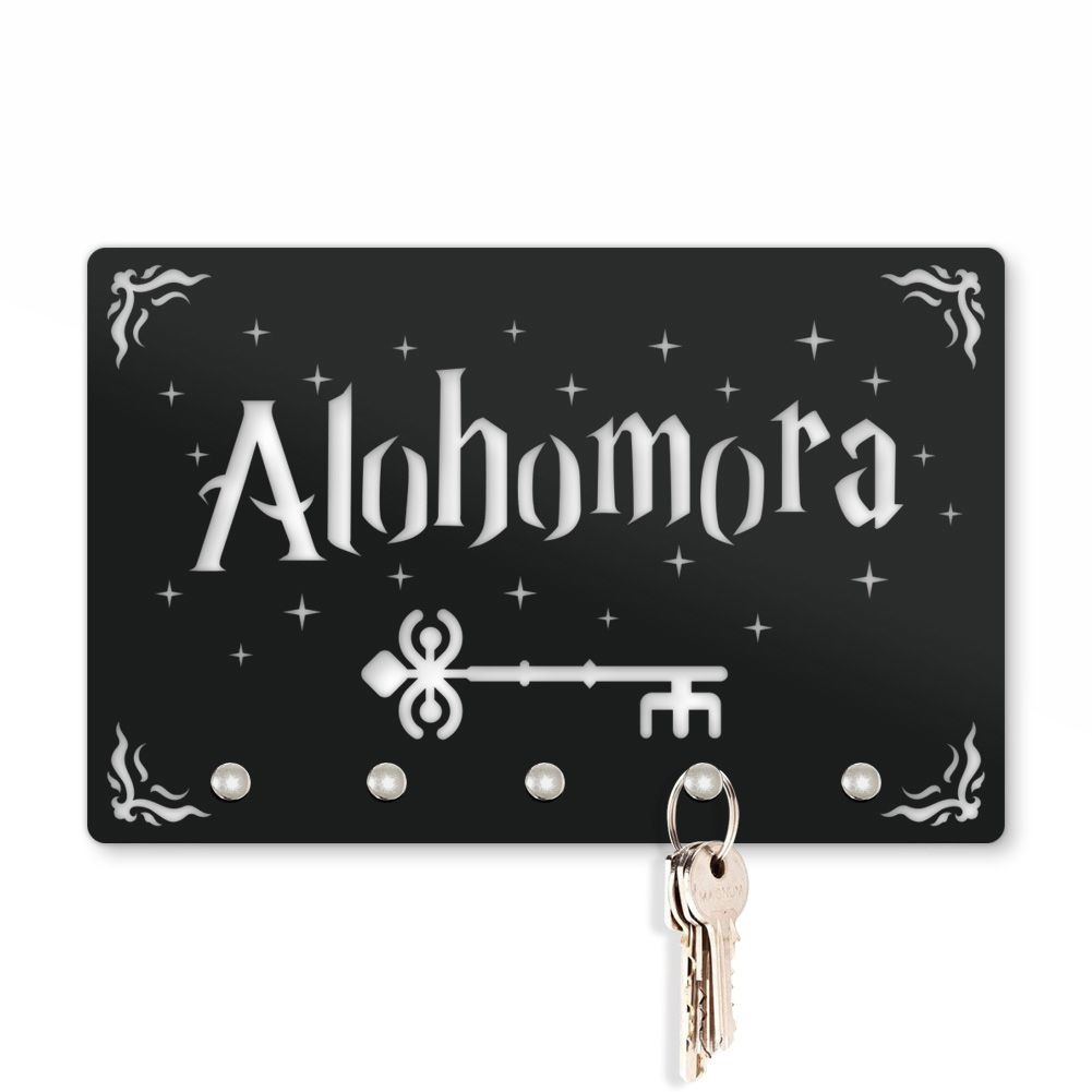 Porta Chaves Harry Potter Alohomora