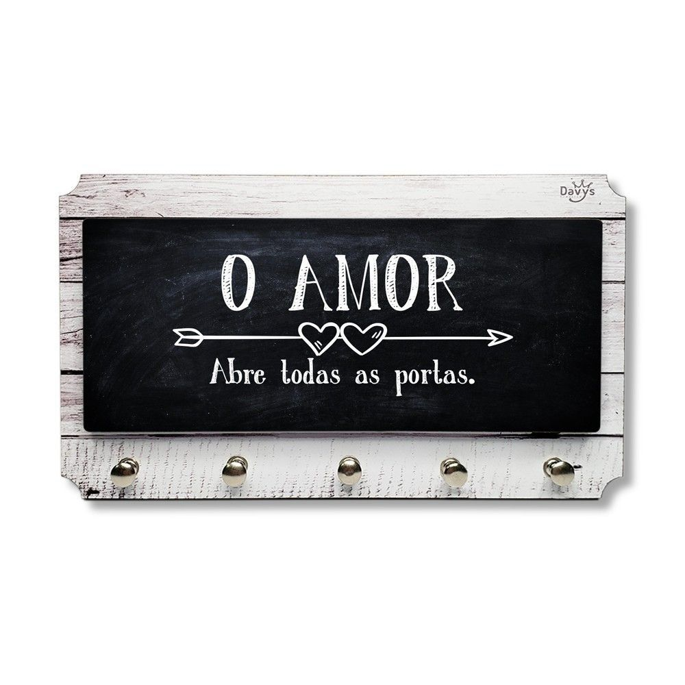 Porta Chaves O Amor Abre Todas as Portas
