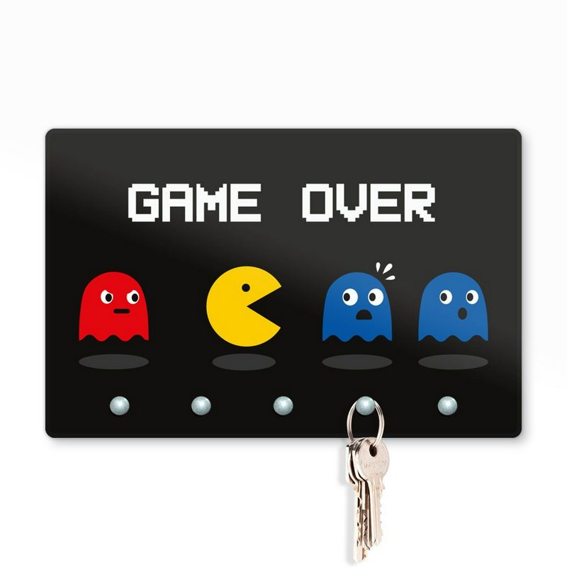 Porta Chaves Pac Man Game Over