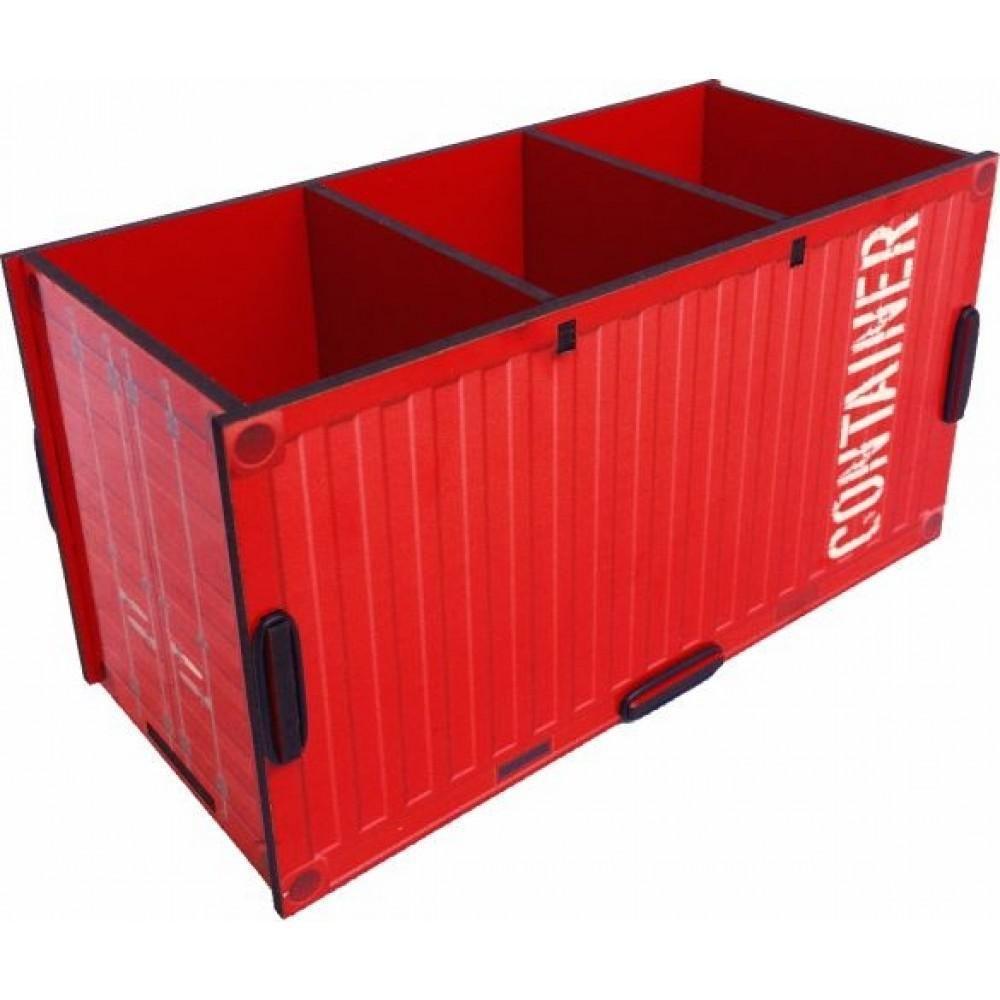 Porta Controle e Objetos Container