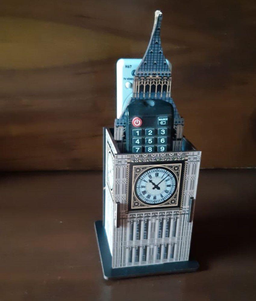 Porta Controle e Objetos Relógio Big Ben