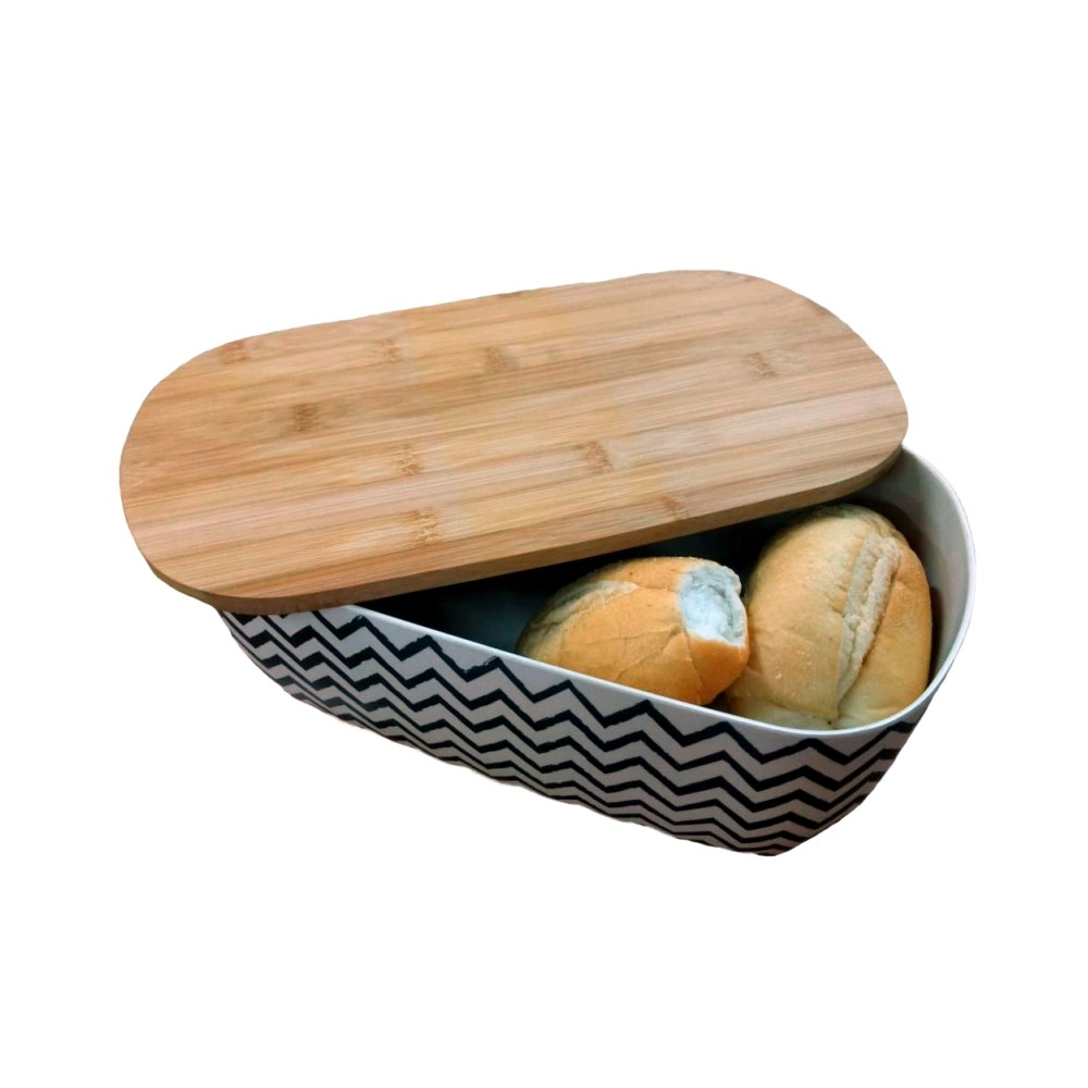 Porta Pão Bambu Eco Fratelli