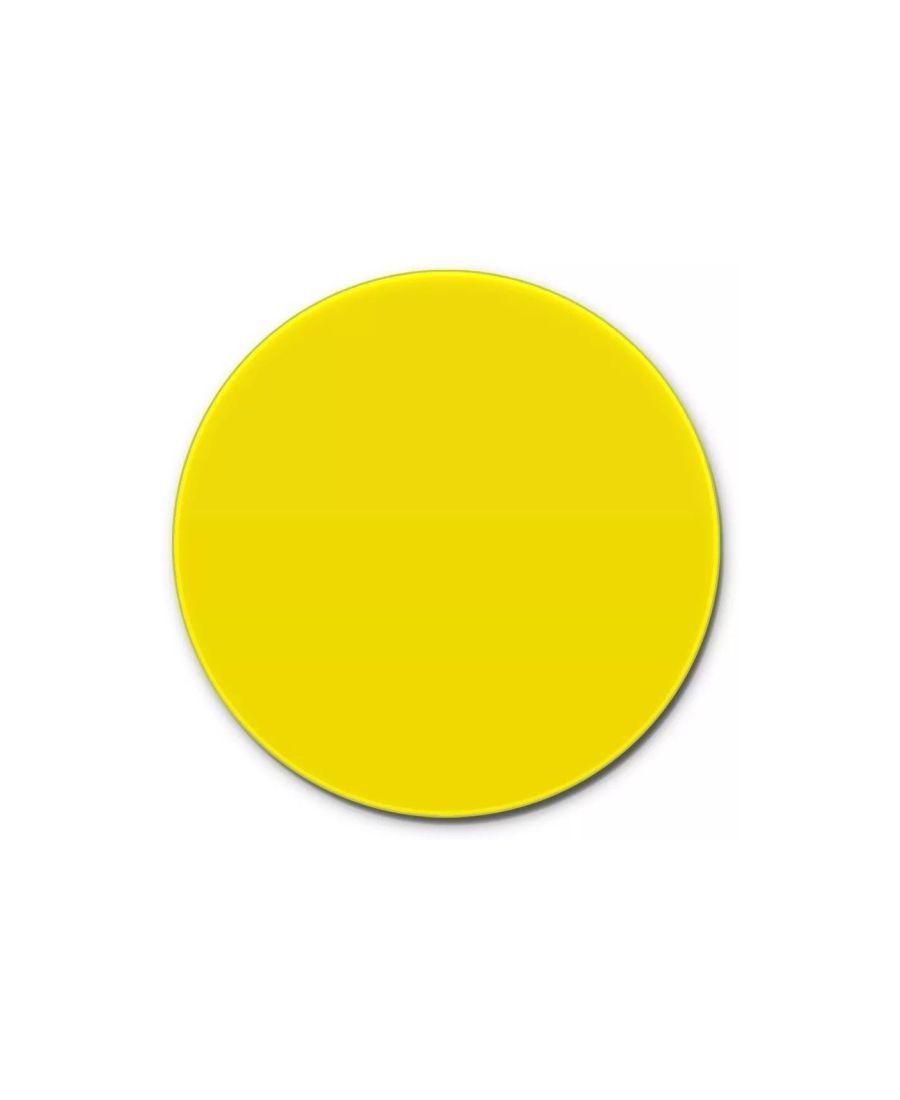 Prato Giratório Amarelo 60 cm