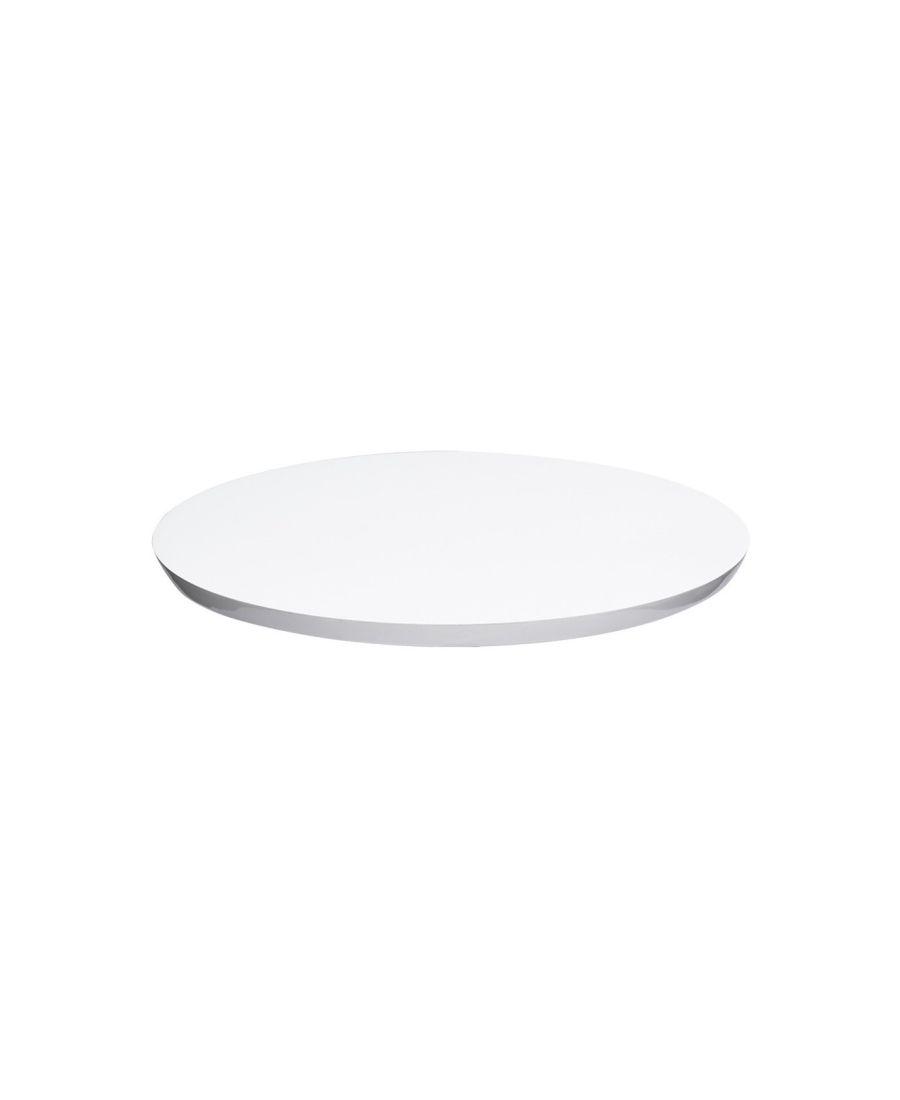 Prato Giratório Branco 60 cm