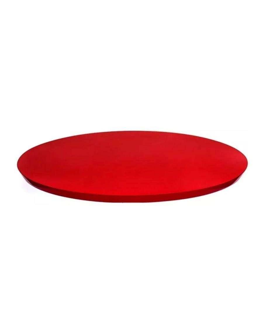 Prato Giratório Vermelho 50 cm