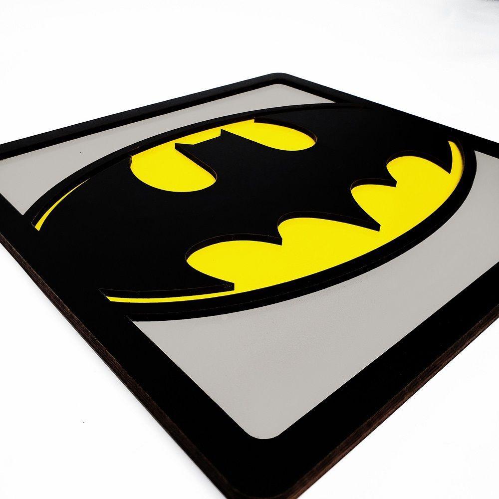 Quadro Decorativo Herói Batman