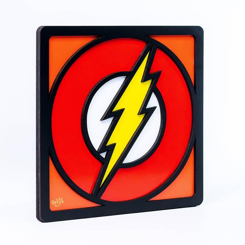 Quadro Decorativo Herói Flash