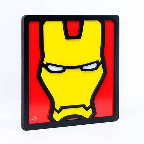 Quadro Decorativo Herói Homem de Ferro