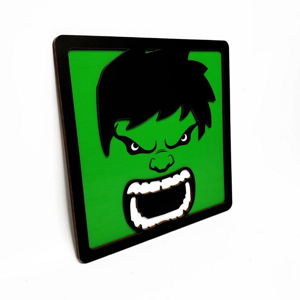 Quadro Decorativo Herói Hulk