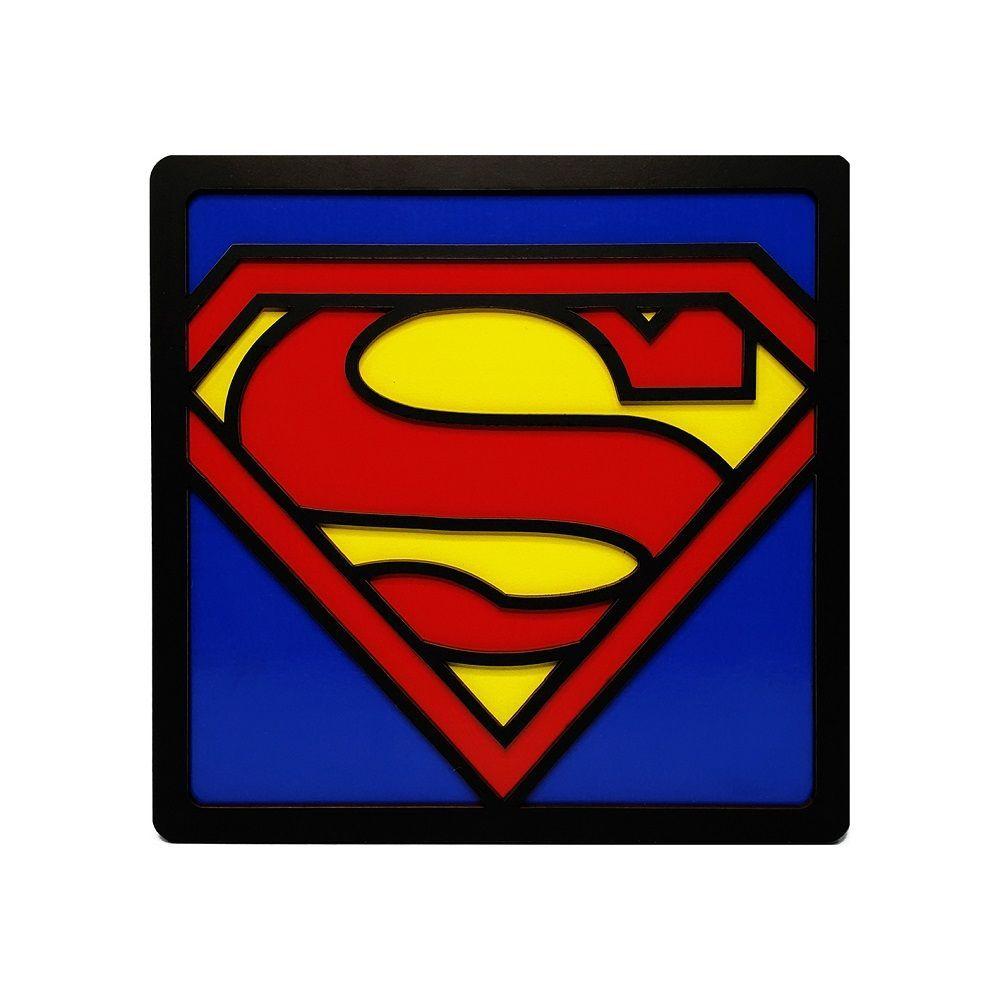 Quadro Decorativo Herói Superman