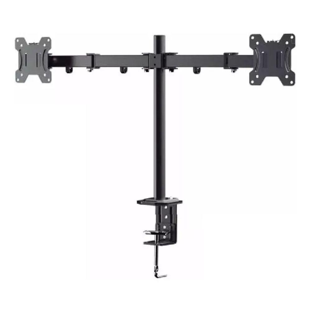 Suporte de Mesa para 2 Monitor Bi-Articulado 13 a 32 polegadas