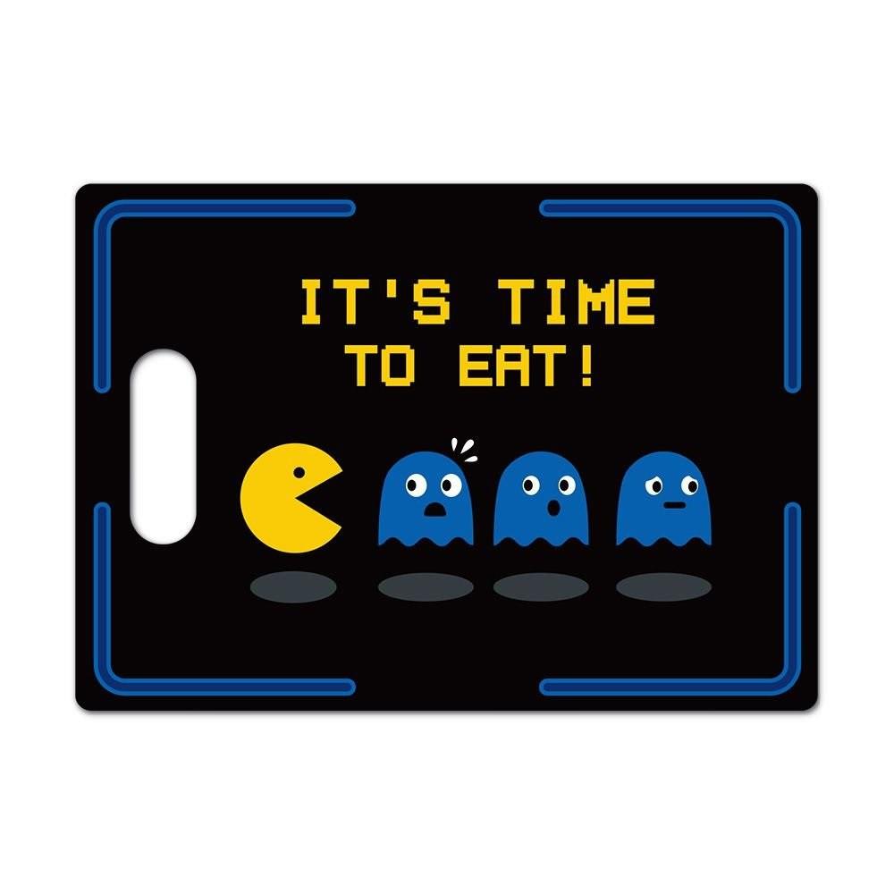 Tábua de Corte de Vidro Pac Man Come Come 35x25 cm