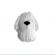 Adotados Dog Borrachinha Branco - Fun F0019-3