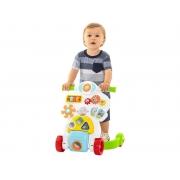 Andador Bebê Piloto Branco - TaTeTi 889