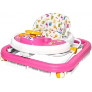 Andador Sonoro Rosa - Styll Baby AND-98.002-05