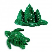 Areia De Modelar 170 G Verde Brilhante Sunny 1805