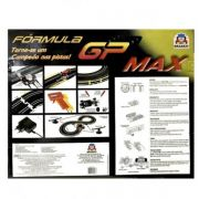 Autorama Pista Eletrica Formula Gp Max 5803 - Braskit