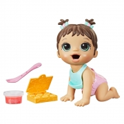Baby Alive Hora da Papinha Morena - Hasbro 423856