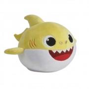 Baby Shark Pelúcia Que Me Abraça Amarelo - Sunny 2351
