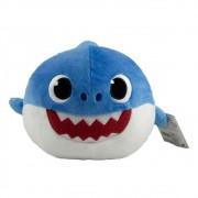 Baby Shark Pelúcia Que Me Abraça Azul - Sunny 2351