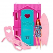 Barbie Studio de Surf Vestido Azul - Fun 85825