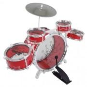 Bateria Musical Vermelho BT383 - Fenix