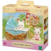 Bebê coelho chocolate e carrinho de brincar Sylvanian Families - Epoch 5432