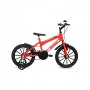 Bicicleta Aro 16 Top Lip C18 Aro PP Laranja Neon - Mormaii 0601-017