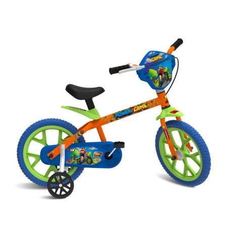 Bicicleta Infantil Aro 14 Power Game - Bandeirante