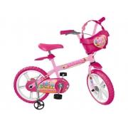 Bicicleta Infantil Aro 14 Sweet Game - Bandeirante 3030