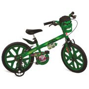 Bicicleta Infantil Aro 16 Hulk 2422 - Bandeirante