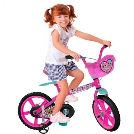 Bicicleta Lol Aro 14 - Bandeirante  3302