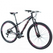 Bicicleta Vision GT X1 Aro 29 T-17 Pink/Preto Garantia Vitalícia - Ducce 107