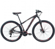 Bicicleta Vision GT X1 Aro 29 T-19 Preto/Vermelho - Ducce 110