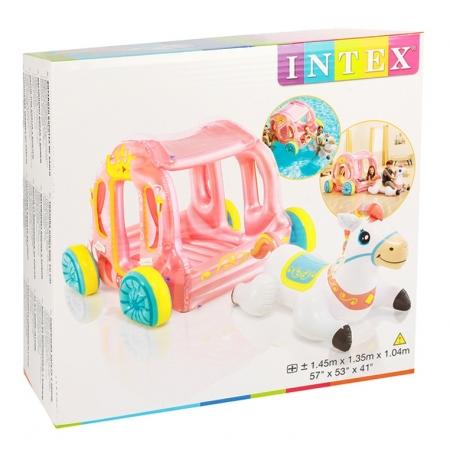 Boia Inflável Carruagem Da Princesa - Intex 56514