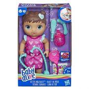 Boneca Baby Alive Cuida De Mim Morena  E5837  Hasbro