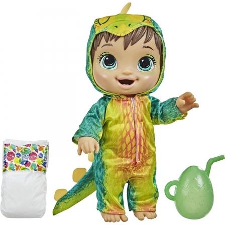 Boneca Baby Alive Dino Cuties Morena - Hasbro F0934