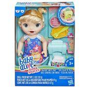 Boneca Baby Alive Festa das Massas Loira E3694 - Hasbro