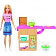 Boneca Barbie Máquina de Macarrão - Mattel GHK43