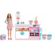 Boneca Barbie Playset Chef de Bolinhos - Mattel GFP59