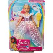 Boneca Barbie Princesa Vestido Brilhante GFR45  Mattel