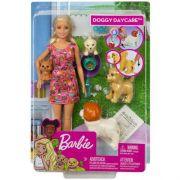 Boneca Barbie Treinadora de Cachorrinhos - Mattel FXH08