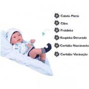 Boneca Bebê Anny Doll Baby Menino - Cotiplás 2440