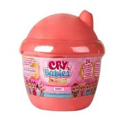Boneca Cry Babies Magic Tears Laranja BR980 - Multikids